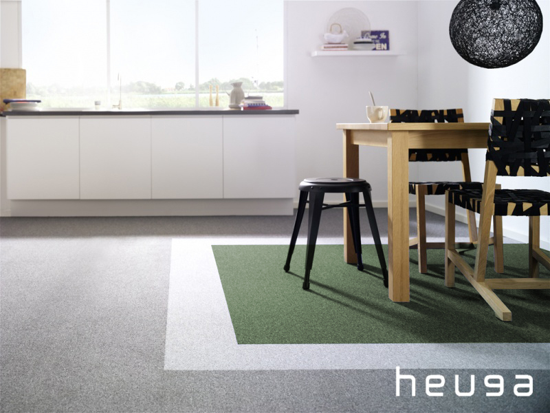 Looking for Heuga carpet tiles? Color Collection in the color Forest is an excellent choice. View this and other carpet tiles in our webshop.