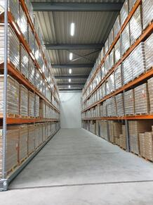 Our new warehouse